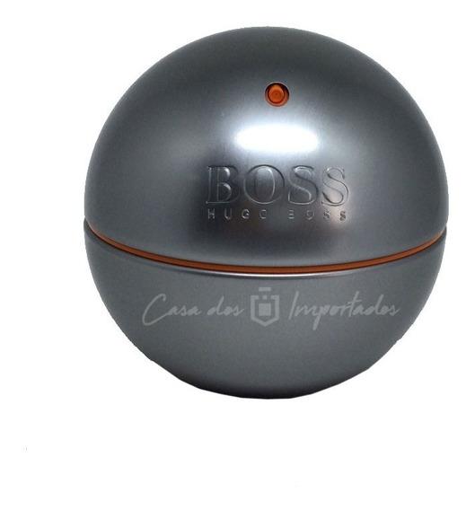 Boss Orange In Motion 90ml Masculino + Amostra De Brinde