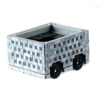 Hot Wheels Minecart Minecraft - Track Stars + Brinde