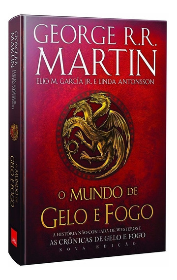 Livro O Mundo De Gelo E Fogo - Game Of Thrones