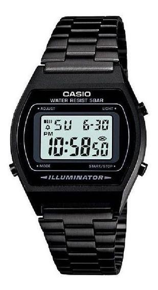 Relógio Casio Vintage Aço Preto