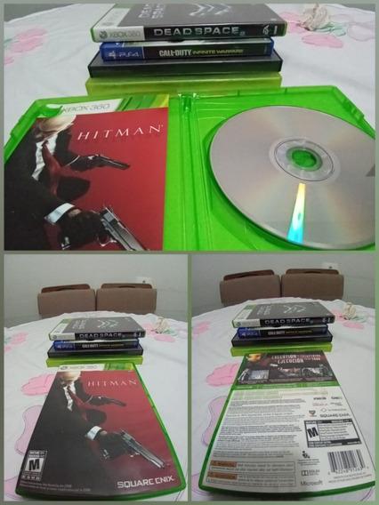 Games Jogos Hitman Absolution Original Xbox360 Xbox 360 L7