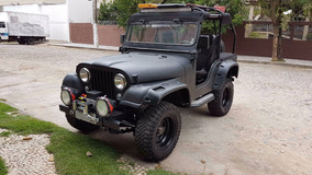 Jeep Willys Cj5 Preto Fosco 1963 Todo Restaurado
