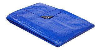Lona Carreteiro Plástica Azul 6x3m 150 Micras Beltools