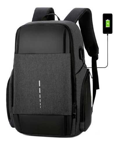 Mochila Anti Furto Usb Notebook 16  Original Pronta Entrega