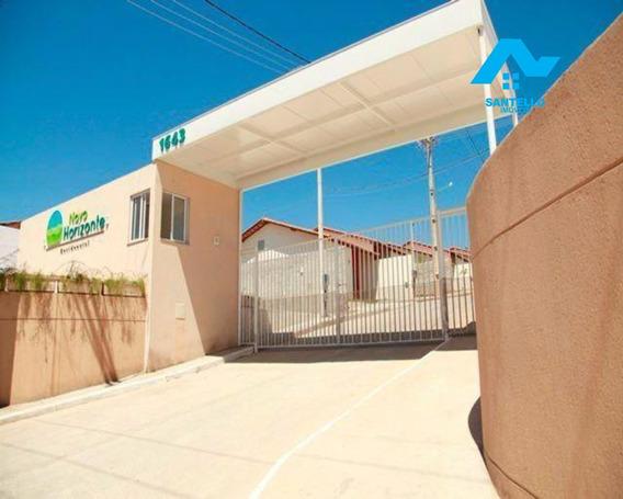 Novo Horizonte Vista Alegre - 1º Locação, Casas 2 Quartos E Quintal Dentro De Condomínio - Ca00086 - 33582895