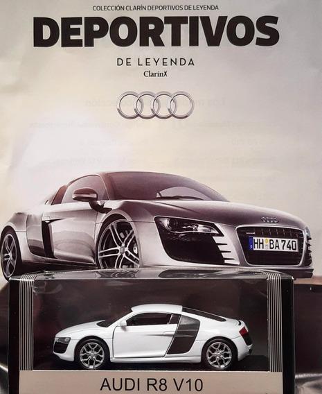 Deportivos De Leyenda Clarin N° 2 Audi R8 V10