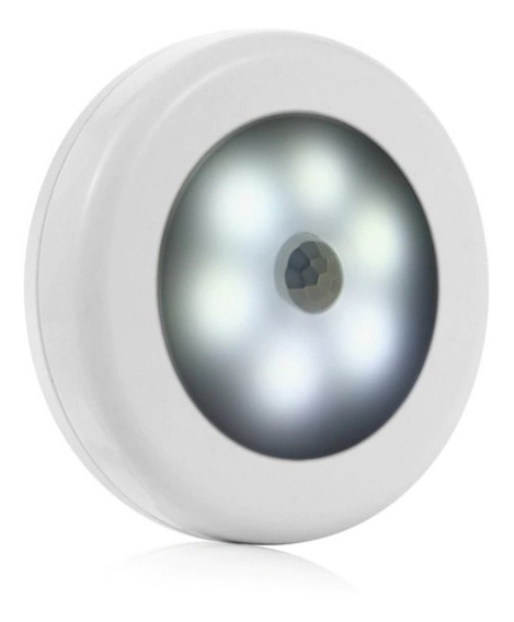 Pequena Luminária De Led Com Sensor De Movimento