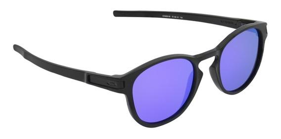 Óculos Unissex Oakley Latch Matte Black Violet