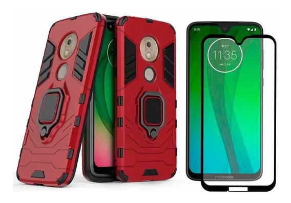 Funda Motorola Case Uso Rudo Protector Mica 5d