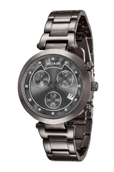 Relógio Feminino Seculus 20377lpsvss5