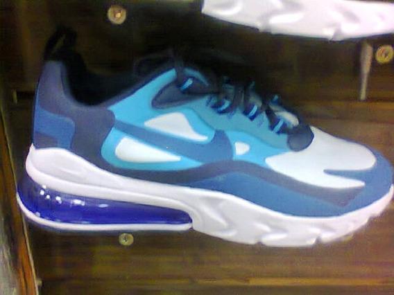 Tenis Nike React 270 Azul E Branco Nº40 Original Na Caixa!!!