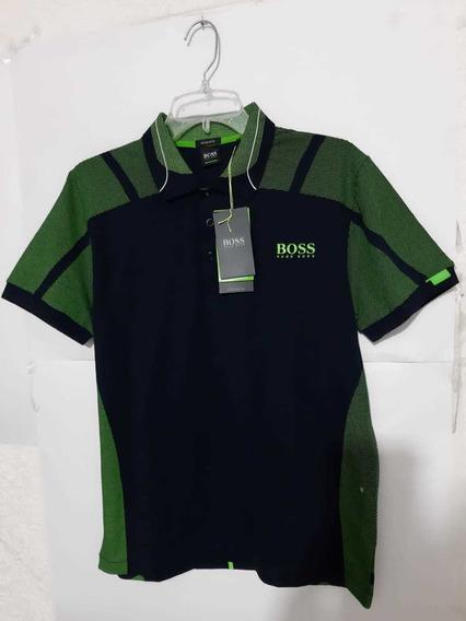 Playera Polo Hugo Boss Verde