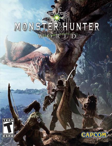 Monster Hunter World Pc - Steam Key (envio Rápido)