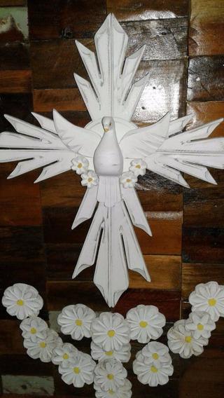 Quadro Divino Espirito Santo - Templo Das Artes
