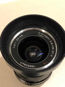 Vendo Lente Zeiss 25mm F.2.8 Sem Uso Zf2 Para Nikon