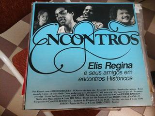 Vinilo 5142 - Encontros - Elis Regina E Seus Amigos Em
