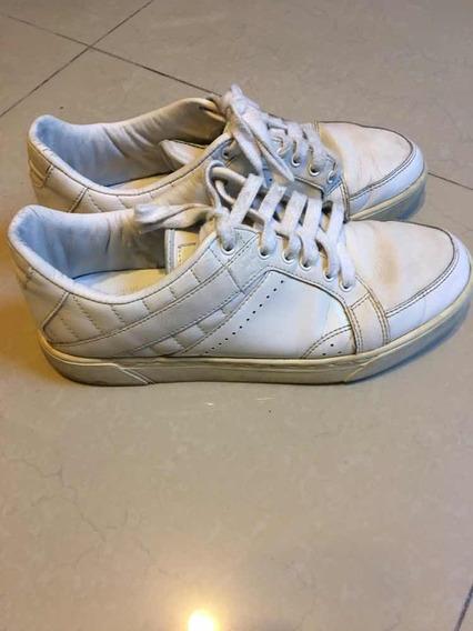 Zapatillas Fila Blancas De Cuero
