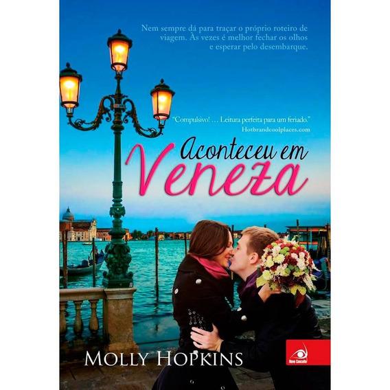 Livro - Aconteceu Em Veneza - Molly Hopkins