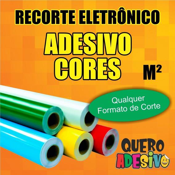 Recorte Eletronico Adesivo Vinil C/ Máscara - Valor Por M²