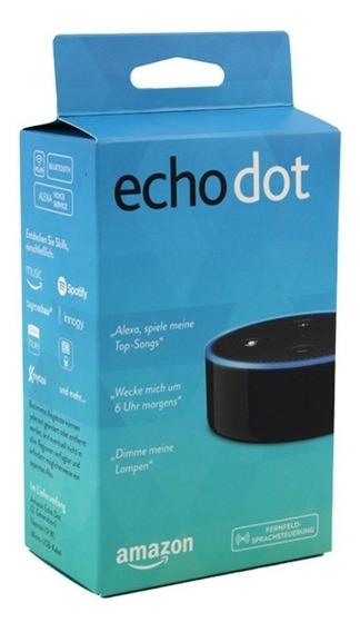 Echo Dot 2ª Geração (alexa - Amazon) - (embalagem Aberta!)