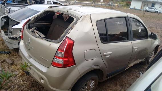 Sucata Renault Sandero 1.6 Flex 2013 Rs Caí Peças