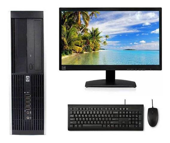 Cpu Hp 8000 Core 2 Duo 4gb 80gb Dvd Wifi + Monitor 20