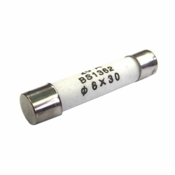 Fusível Cerâmico 6x30 Kit Com 20 Peças 25a