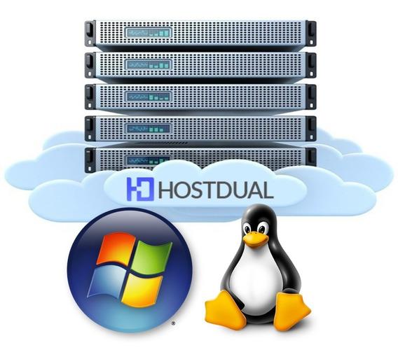 Servidor Vps Xeon 3.2ghz 2gb Ram 100gb Hdd Windows Ou Linux
