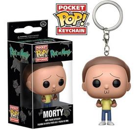 Chaveiro Morty - Rick And Morty - Pocket Pop! Funko