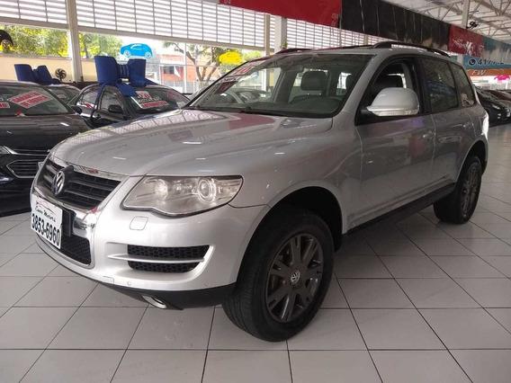 Volkswagen Touareg V6 2010 C/ Teto Couro Nova Oferta Troco F