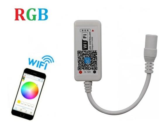 Controlador Wifi P/ Fita Led Rgb Smartphone Android Ios