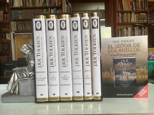 Estuché Tolkien + Mapa + Postales - El Señor De Los Anillos