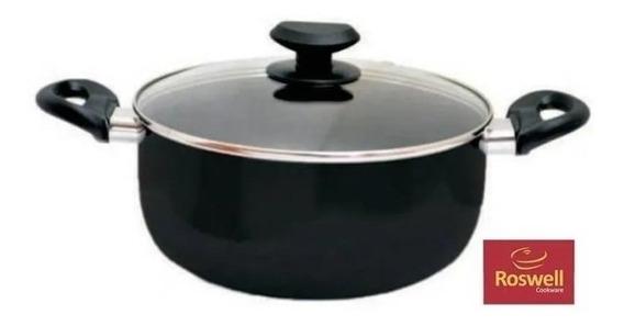 Cacerola N°24 Antiadherente Roswell Classic Black