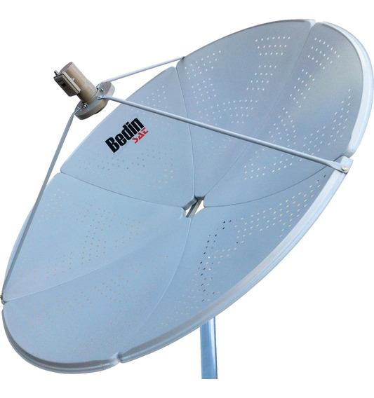 Kit 3 Antena Parabólica Banda C/ku Be-1,5m Bedinsat