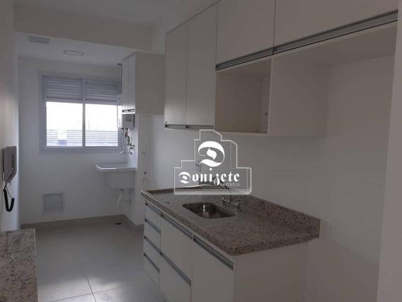 Apartamento Com 2 Dormitórios À Venda Ou Locação, 71 M² - Vila Assunção - Santo André/sp - Ap10953
