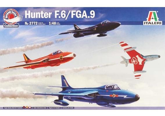 Kit Italeri Jato Hawker Hunter F6 Fga9 Aerobatic 1/48 - 2772