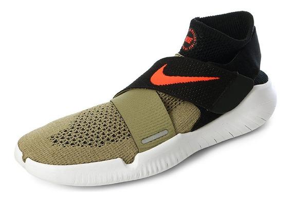 Tenis Nike Free Rn Motion Flyknit 2018 942840-200 Env Gra