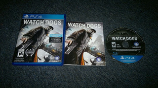 Watch Dogs Completo Para Play Station 4,excelente Titulo