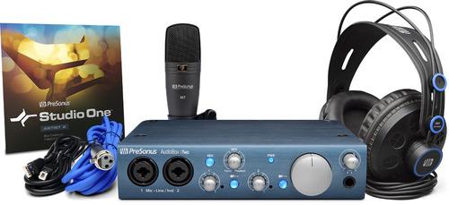 Imagen 1 de 6 de Presonus Audiobox Itwo Studio Paquete Completo De Grabacion