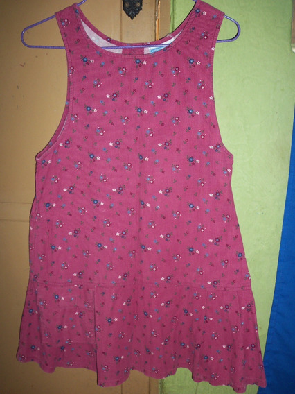 Vestido De Niña Talla 10 Importado Usado