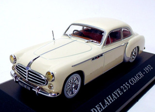 Miniatura Delahaye 235 Coach 1952 1/43 Ixo/altaya