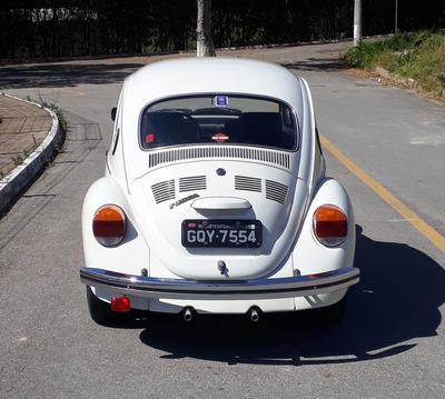 Fusca 1600 Gasolina Placa Preta