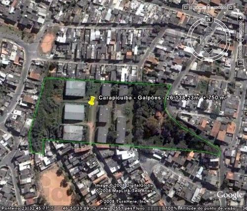 Imagem 1 de 1 de Terreno Área Para Venda, 23707.0m² - 31498