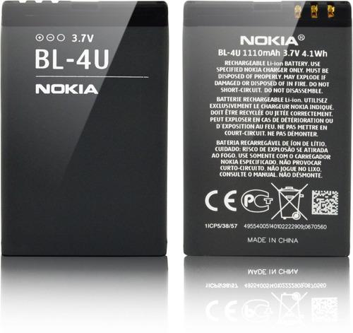 Bateria Nokia Bl-4u Original Asha 311 N500 3120