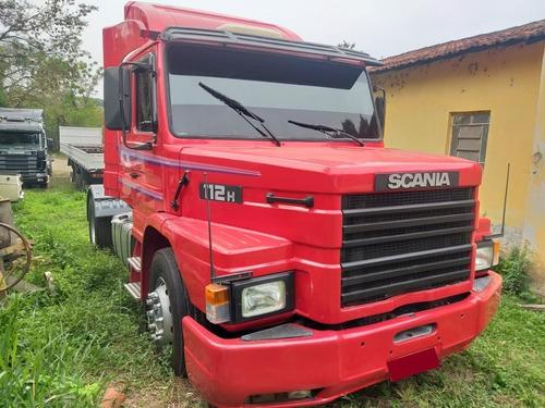 Imagem 1 de 8 de Scania 112 360 Toco 4x2 1987 Vermelho