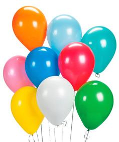 Balão Baloes Bexiga Para Festa 500 Und 10 Pct Escolha A Cor