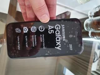 Celular Samsung A5 2017 64gb Preto Usado Em Ótimo Estado