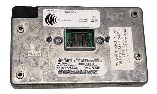 Modulo Central Sync Fusion Focus Edge Ea5z14d212da-