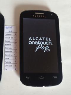 Celular Alcatel One Touch C3 4033e 4033 E 100% (01) Leia