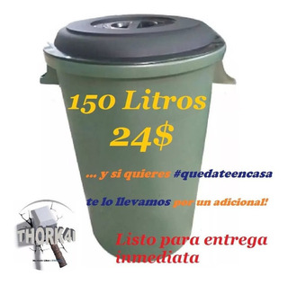 Pipote 150 Litros Para Almacenar Agua O Basura